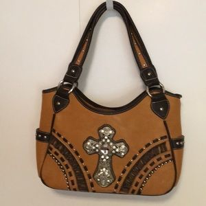 """Montana West purse 14"""" wide 8"""" tall Beautiful"""